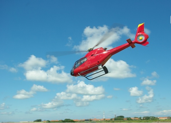 Helikopter dropping