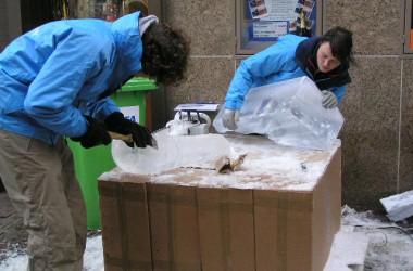 ijssculpturen maken